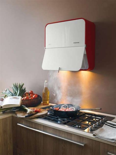 space saving stove vents extractor hood kitchen