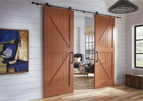 kitchen closet pantry ideas barn doors trustile doors