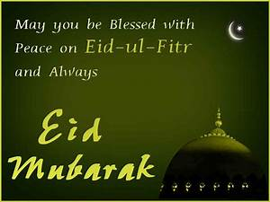 Eid ul Fitr 2015 Greetings Cards SMS in Urdu and English