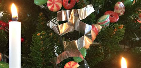 Tin Foil Christmas Ornaments (pictures