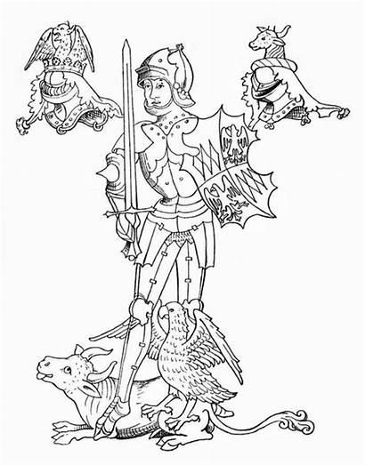 Warwick Neville Richard Colorear Dibujo Conde