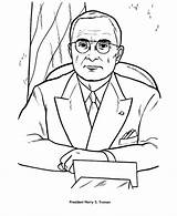 Truman Coloring Harry Presidents Pages President Usa Facts Printable Printables Kennedy Presidential John Patriotic Sheets Getcoloringpages Printing Help Lamar Activities sketch template