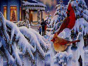 Beautiful, Christmas, Scenes, Wallpaper