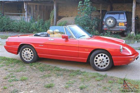 Classic Alfa Romeo Spider 2000 Convertible Lhd