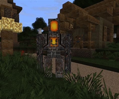 iron golem image carnivores resource pack  mod