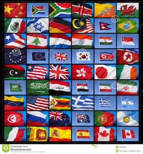 Flags From Countries around the World