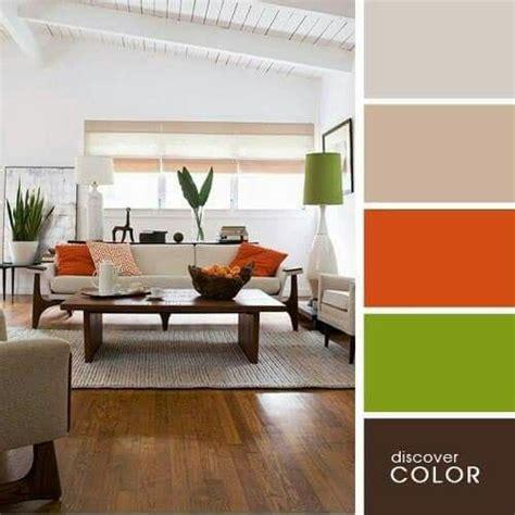 Wohnzimmer Grün Braun by Farbkombination Creme Braun Orange Und Gr 252 N Wohnideen