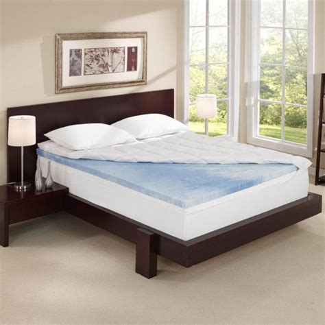 4 inch mattress topper sleep innovations 4 inch dual layer mattress topper