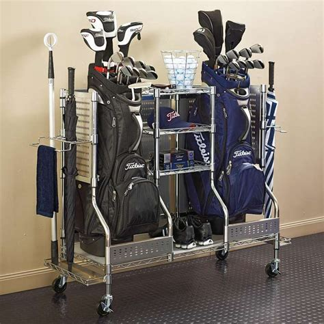 Golf Organizer For Garage Smalltowndjscom
