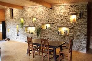 Mur En Moellon : parement pierre naturelle ~ Dallasstarsshop.com Idées de Décoration