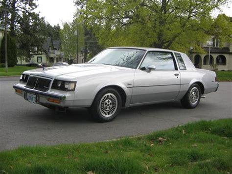 1985 Buick Regal T Type by 1985 Buick Regal T Type Silver Metallic