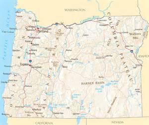 Oregon Reference Map - oregon maps Oregon