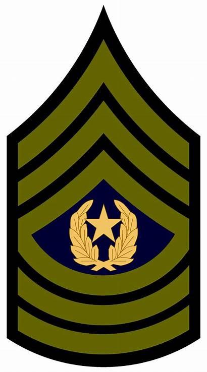 Rank Army Insignia Sergeant Major Csm Transparent