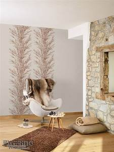 Muster Tapete Wohnzimmer : moderne eleganz auf tapete lucia von grandeco ewering blog ~ Markanthonyermac.com Haus und Dekorationen