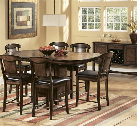 Homelegance Westwood 8 Piece Counter Height Dining Room