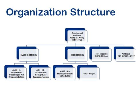 Organizational Structure Analysis For Southwest Airlines