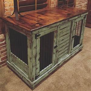 Handcrafted dog kennel and dog crate custom dog kennel for Indoor double dog kennel