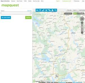 MapQuest Driving Directions Maps