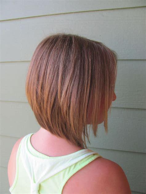 inverted bob haircut hair  nails pinterest