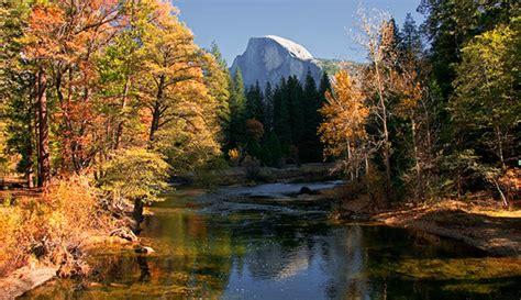 win  autumn hiking vacation  yosemite  yosemite park