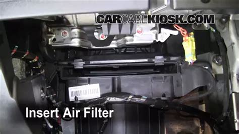 cabin filter replacement gmc terrain    gmc