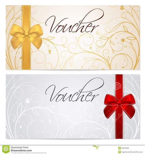 printable gift voucher template addictionary