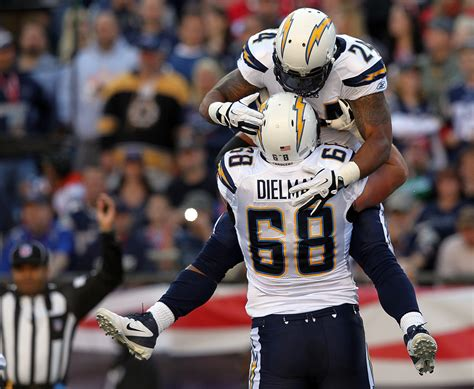 San Diego Chargers V New England