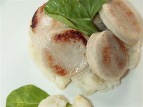 recette cuisine vegane recettes de boudin et chou fleur