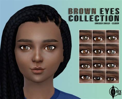 onyx sims brown collection sims 4 downloads