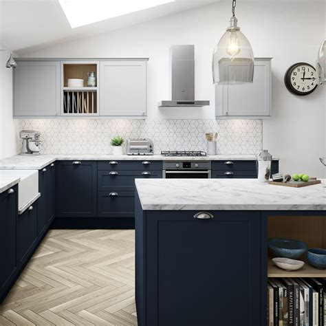 blue kitchens blue kitchen cabinets units ideas magnet