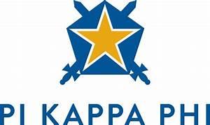 pi kappa phi fraternity With pi kappa phi letters