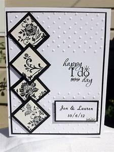 Black And White Cards Black And White Personalized Wedding Handmade Card