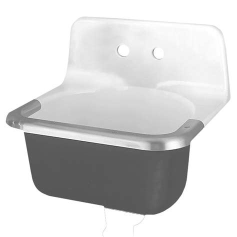 american standard wall hung sink american standard regalyn wall hung bathroom sink in white