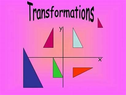 Transformations Math Geometry Translations Geometric Maths Transformation