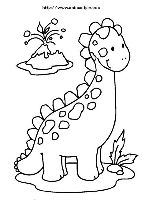Kleurplaat De Dinosaurussen by Kleurplaat Dino динозавры Dinosaurussen