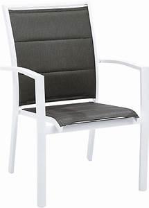 Fauteuil De Jardin Blanc : fauteuil de jardin modulo blanc ~ Teatrodelosmanantiales.com Idées de Décoration