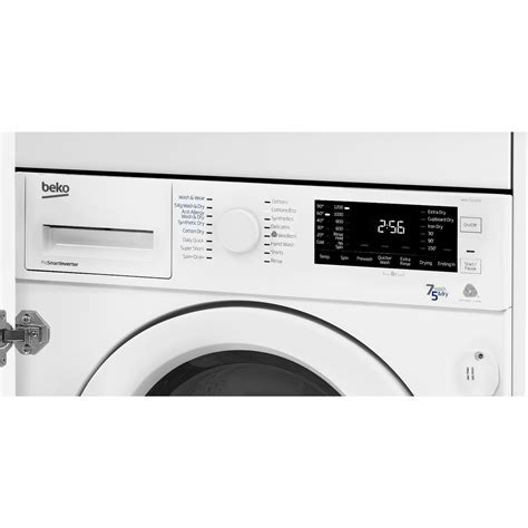Beko Integrated Washer Dryer WDIC7523002F2