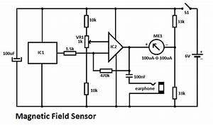 Magnetic field sensor circuit for Magnetic field sensor ad22151 magneticsensor sensorcircuit