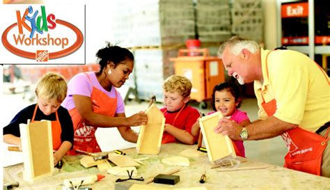 The Home Depot Canada Free Kids Workshop On Saturdays