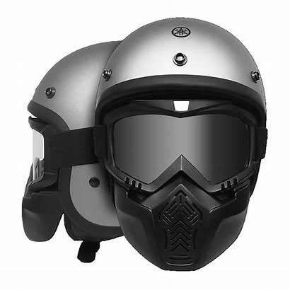 Fighter N13 Yj Doff Yamaha Helm Silver