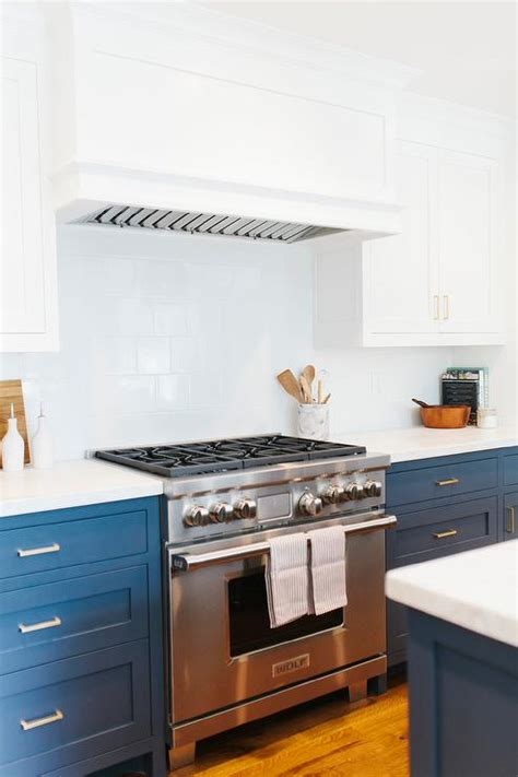 navy blue bottom kitchen cabinets lovely cottage style kitchen features white kitchen