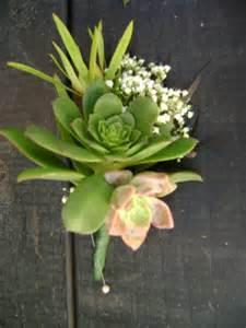boutineer flowers succulent boutonniere theflowerstandlaguna 39 s