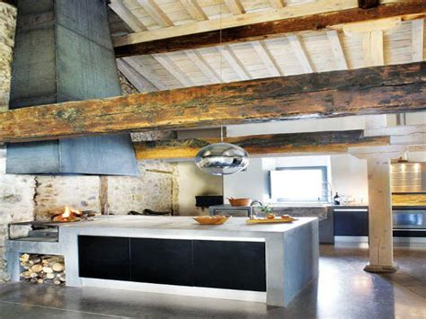 rustic farmhouse kitchens rustic  modern kitchen