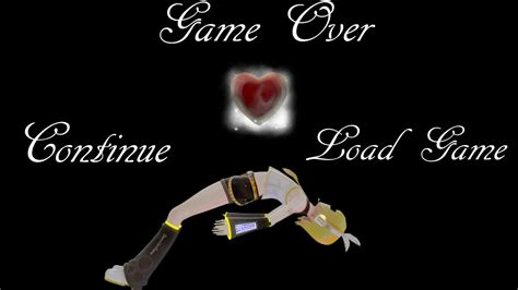 Kingdom Hearts Rin Kagamine Losed Her Heart Game Over