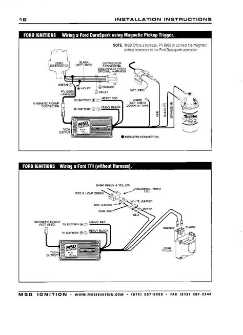 Wiring Msd Ignition Box Page