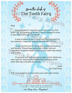 tooth fairy angels letters tooth fairy angels With tooth fairy letters for lost teeth