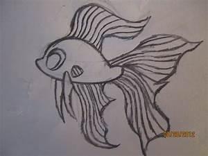 How to Draw a Cartoon Betta Fish | Asian Addiction