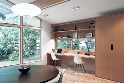 inspirational mid century modern home office designs