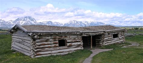 ranch style file cunningham cabin in jackson jpg wikimedia commons