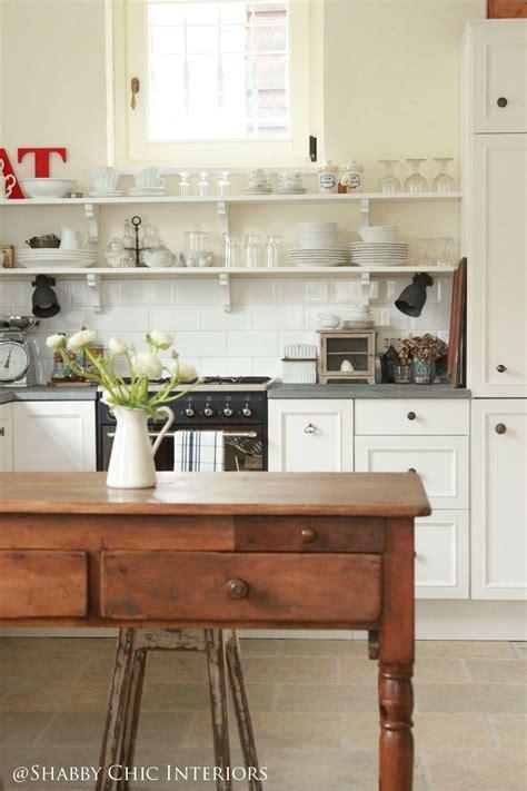 mensole cucina ikea shabby chic interiors restyling di una cucina ikea my